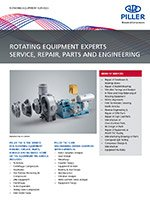 Cover ROTATING EQUIPMENT SERVICES